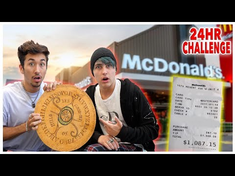 Letting The OUIJA BOARD Decide What i Eat For 24 Hours w/ Colby Brock (IMPOSSIBLE FOOD CHALLENGE)