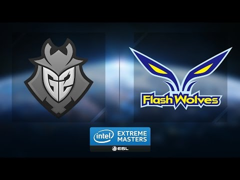 LoL - G2 vs. Flash Wolves - Group B - IEM Katowice 2017