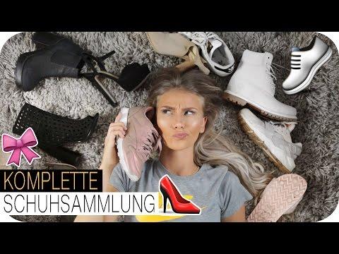 MEINE SCHUHSAMMLUNG - Nike HUARACHE, Grey TIMBERLANDS und MEHR! | AnaJohnson