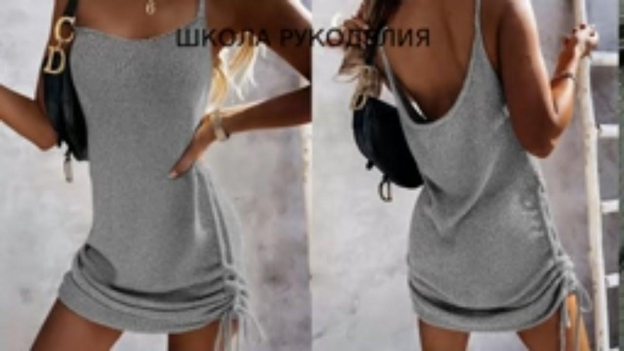 ЗАКАЗЫ БУДУТ 100%.ШИКАРНОЕ ЛЕТНЕЕ ПЛАТЬЕ СПИЦАМИ. вязаная мода. вязаный гардероб