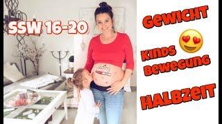 Schwangerschaftsupdate 16. - 20. SSW | Gewicht | KINDSBEWEGUNG | Halbzeit