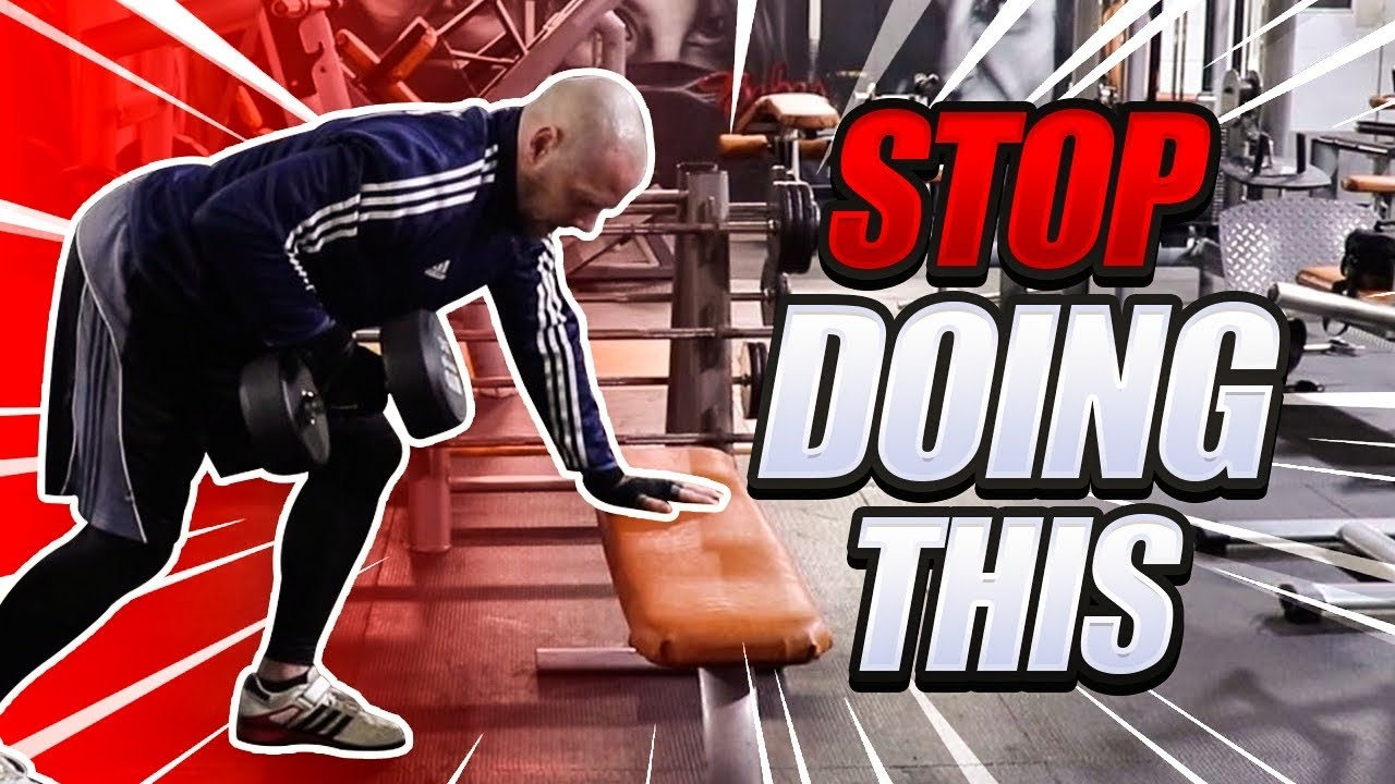 TOP 5 MISTAKES IN DUMBBELL ROWS *STOP DOING THIS*