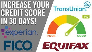 INCREASE YOUR CREDIT SCORE IN JUST 30 DAYS 🤑 (Honest Finance Collaboration)