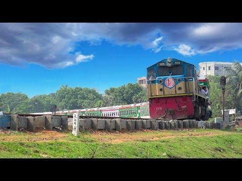 Sonar Bangla Express Train skipping Tongi Rail Curve- Bangladesh Railway