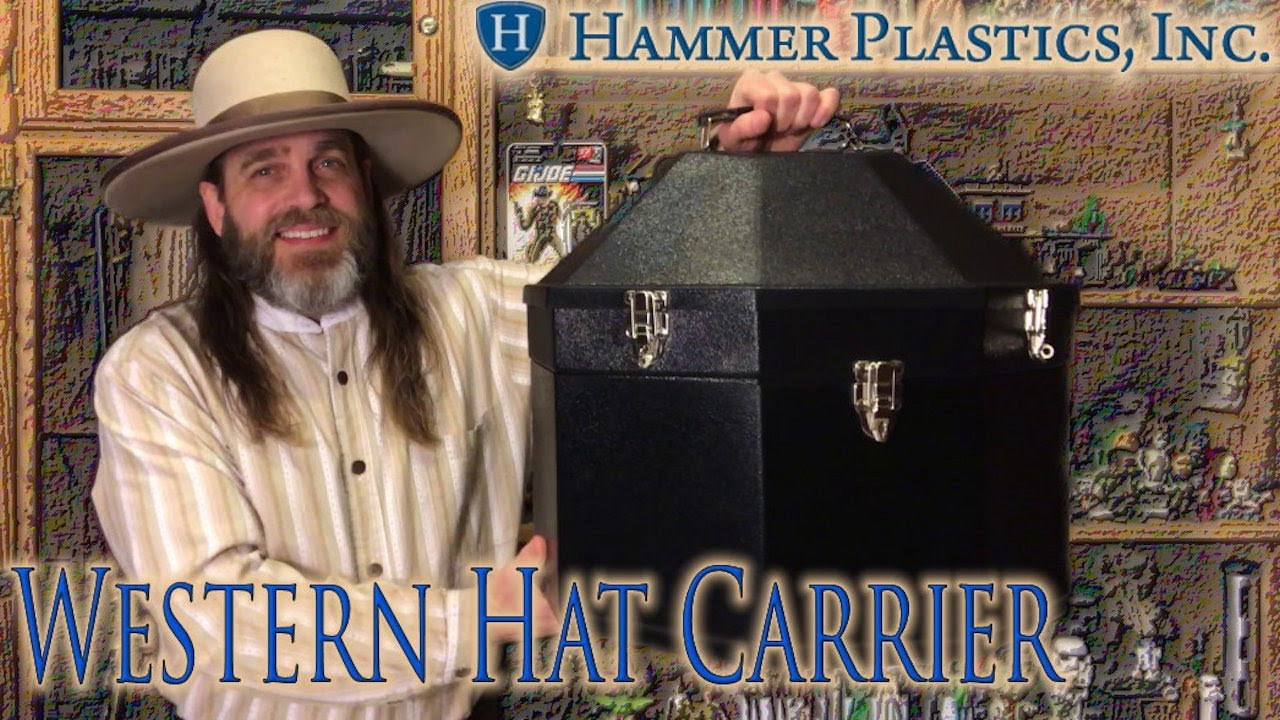 REVIEW  Hammer Plastics Double Western Hat Carrier - YouTube 49294ea5c970