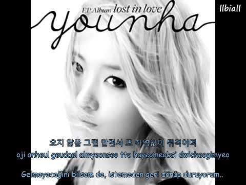 Younha -  Waiting Acoustic Ver  Türkçe Altyazılı(Hangul-Romanization)