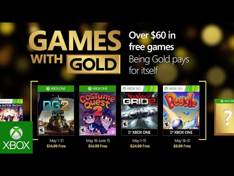 Xbox May Games With Gold Youtube