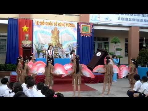 Trường TH Tân Hóa - văn nghệ ngày giỗ tổ Hùng Vương- hát