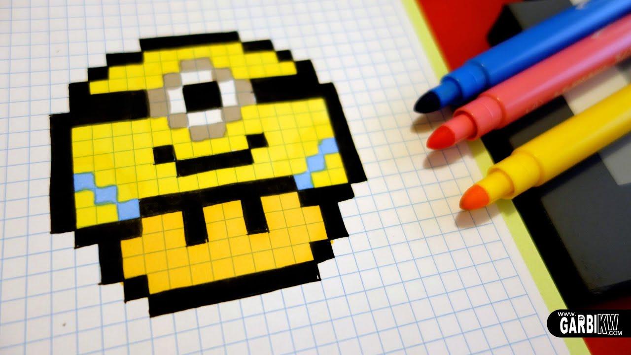 pixel art hello
