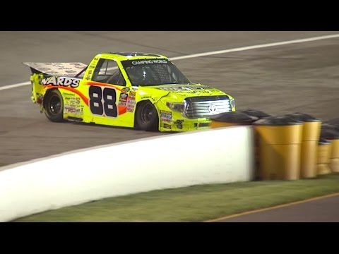 Race recap: John Hunter Nemechek passes Matt Crafton late for the win at Gateway