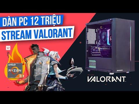Lắp Ráp Cấu Hình PC 12 Triệu Để Livestream VALORANT Max Settings! Ryzen 3 3100 Có Gánh Được Không?