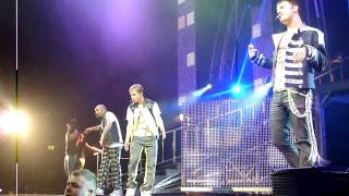 Backstreet Boys - Bye Bye Love @ Oslo Spektrum 5 dec 2009 This is Us Tour
