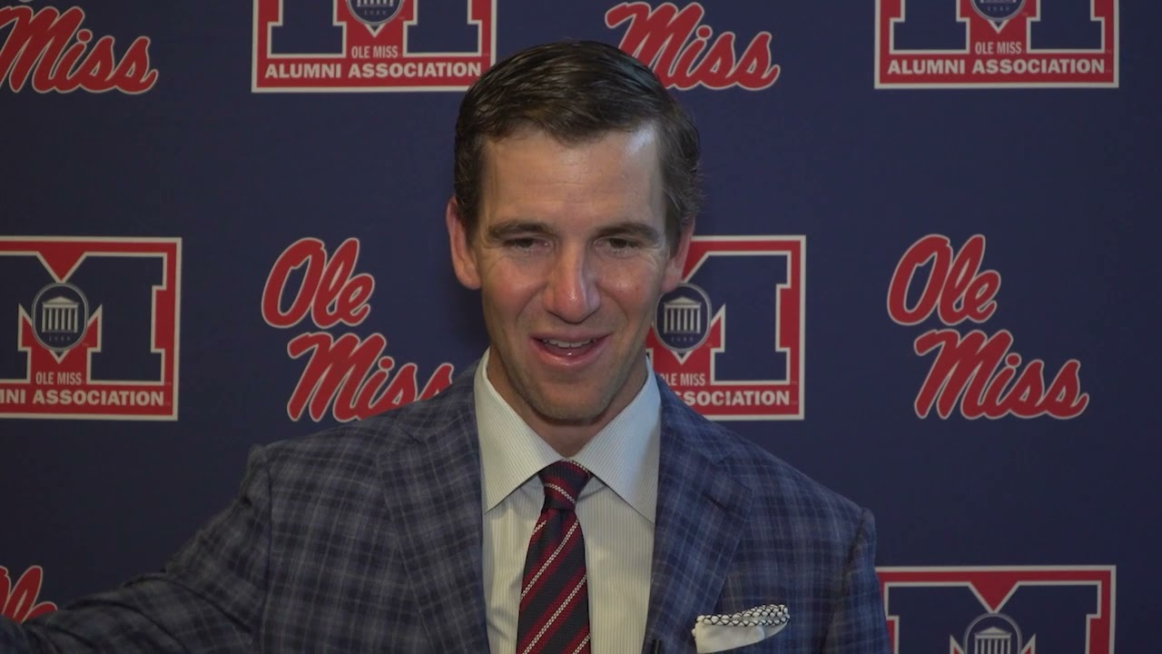 Eli Manning's number retired at Ole Miss, says most memorable ...