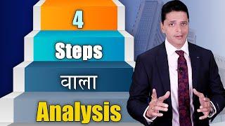 Swing Trading या शार्टटर्म ट्रेडिंग के लिए 4 स्टेप्स का stock market analysis technique | Aryaamoney