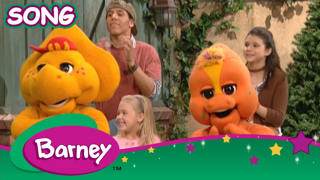Barney Best Of Friends Song Youtube