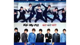 One kiss/Kis-My-Ft2(3サビ)