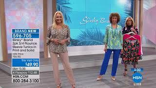 HSN   Slinky Brand Fashions 02.23.2018 - 02 PM
