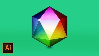 Create a Polygon Geometric Gemstone in Illustrator CC