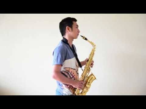 Menunggu Kamu (Anji OST Jelita Sejuba) - Saxophone Cover By Johan Santoso