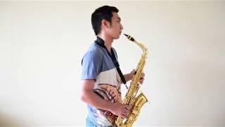 Download Lagu Menunggu Kamu (Anji OST Jelita Sejuba) - Saxophone Cover by Johan Santoso Mp3