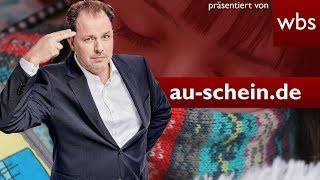 Krankschreibung über au-schein.de per WhatsApp – legal? | Rechtsanwalt Christian Solmecke