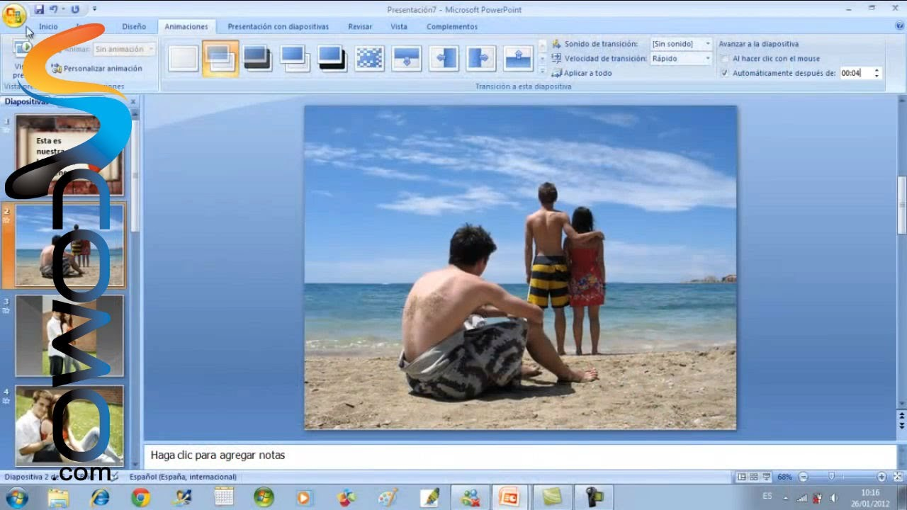Como Hacer Un Album De Fotos Especial Con Power Point Youtube