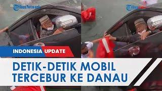 Detik-detik Menegangkan Sopir Coba Selamatkan Diri setelah Mobil Tercebur ke Danau Toba, 1 Tewas