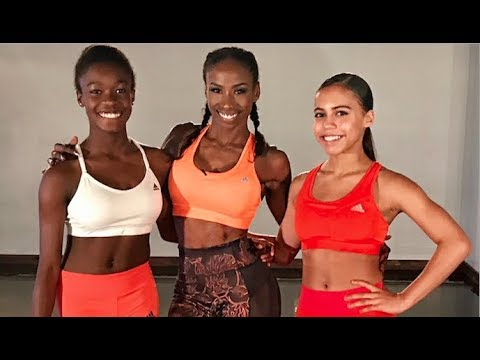 JJ Dancer Tween Workout with Asia Monet, Destiny Wimpye, and Adidas!