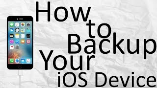 Easy way to backup and restore iPhone without iTunes