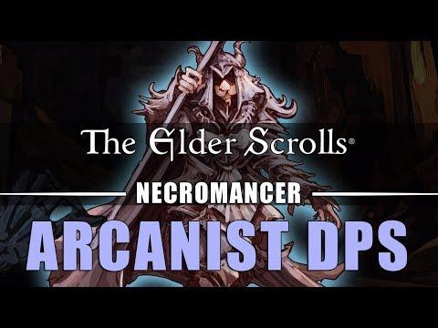 ESO Necromancer Magicka DPS (PvE): Arcanist - Elsweyr