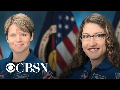 NASA scrubs first all-female spacewalk over spacesuit sizes