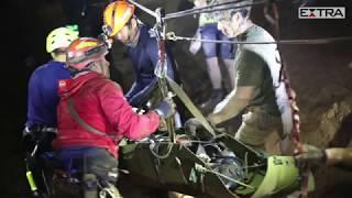 Marinha tailandesa posta vídeo de resgate