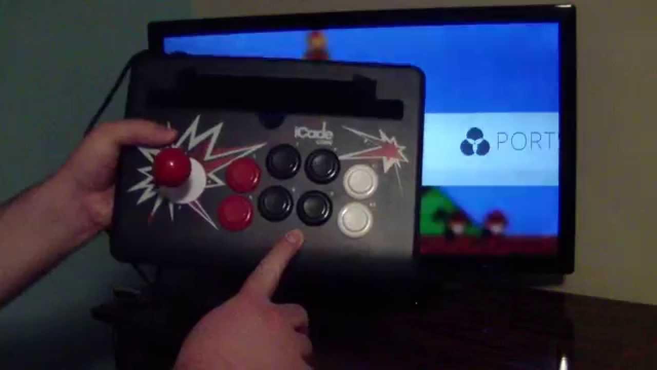 Ion Icade Arcade Controller For Raspberry Pi Youtube