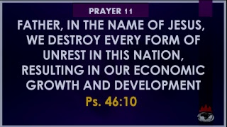 DOMI INC: 7 Days Prayer And Fasting For Nigerian. Evening Session - Day 6,  October 27, 2018