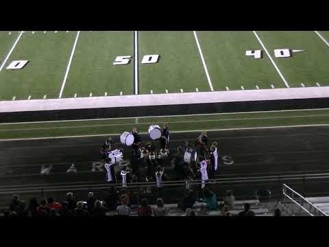 Minerva High School Drumline @ 2018 Carrollton Band Extravaganza