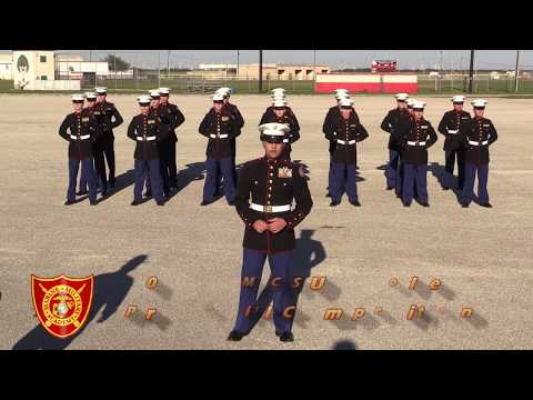 2018 AMCSUS Drill Competition - Marine Military Academy