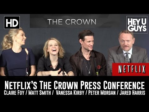 Netflix's The Crown Press Conference in Full  Matt Smith  Claire Foy
