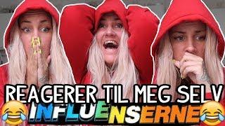 REAGERER TIL MEG SELV PÅ