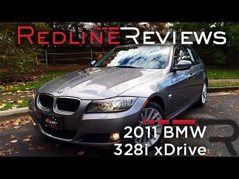 2011 BMW 328i xDrive Review, Walkaround, Exhaust, & Test Drive