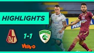 Tolima vs. La Equidad (Goles y highlights)   Liga BetPlay Dimayor 2021-1 - Semifinal - Ida