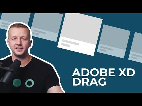 Adobe XD Drag Tutorial - Create An Interactive Image Carousal