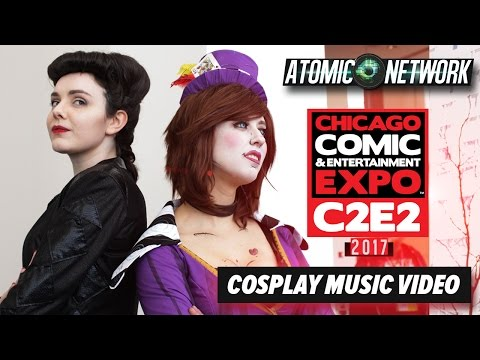 C2E2 2017  - Cosplay Music Video - Part 1