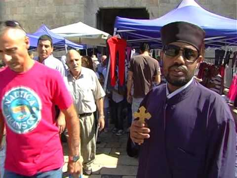 መስቀል በእየሩሳሌም  Meskel on Jerusalem  Sep 2012