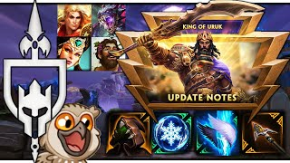 GILGAMESH SMITE PATCH NOTES! #1 ANIMOSITY GOD! - King Of Uruk - Incon