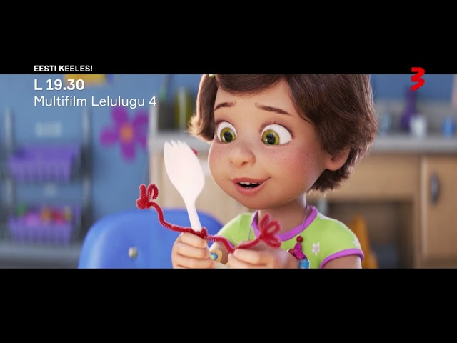 """Animafilm """"Lelulugu 4"""" L 19.30 TV3s! EESTI KEELES!"""