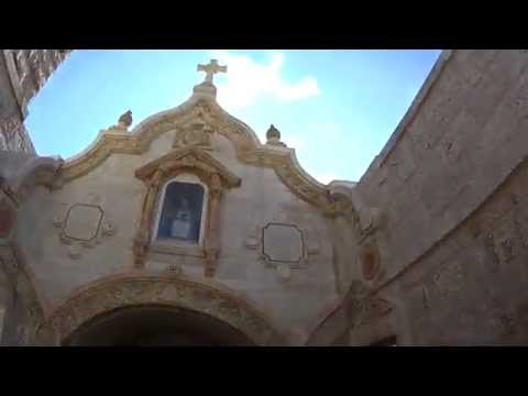 "The Church on the ""Milk Grotto"" Bethlehem. (English and Spanish). Tour Guide: George Saadeh"