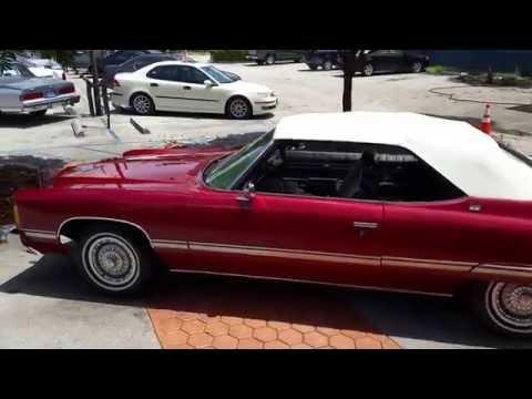 1974 Caprice Convertible @ karconnectioninc.com Miami, FL