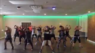 "Dance Craze: Ak'Sent Ft. Beenie Man ""Zingy"" choreograpy by Cesar"