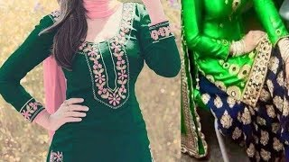 Green colour combination dresses || contrast with green || green colour suits