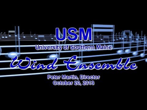 USM Wind Ensemble - Fall 2013